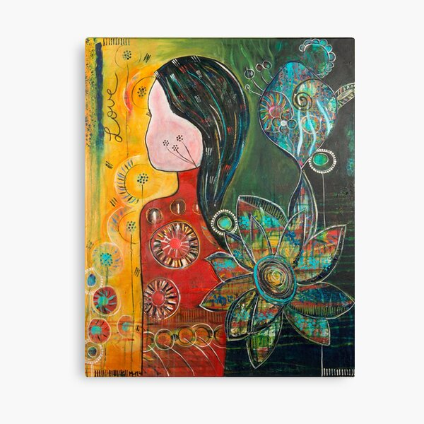 Love is a journey Canvas Print
