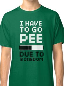 Scott Pilgrim | Pee Due To Boredom Classic T-Shirt