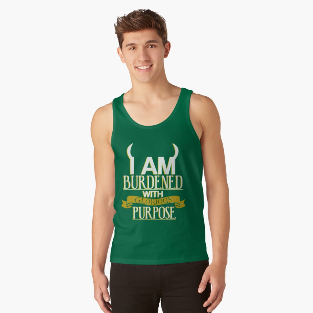 Glorious Purpose Tank Top Front