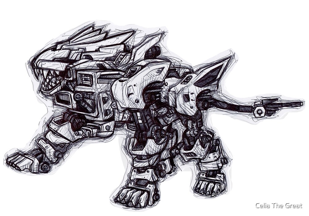 .Zoid Liger. by cheshiresmile