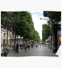 Champs Elysees Poster