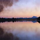 smoke across the river ... by gail woodbury