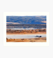 Cooma Morning Art Print