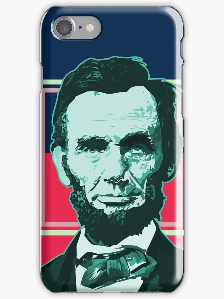 Abraham Lincoln - Retro by Adam Santana