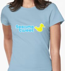 Sesame Tweet - Blue Text V.2 T-Shirt