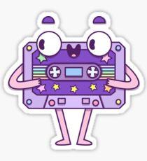 Süße Musikkassette Sticker