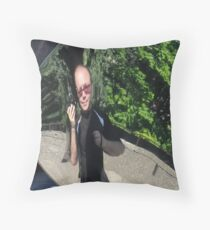 silly me Throw Pillow