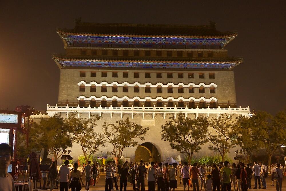 Tiananmen Square Gate by Ian Johnston