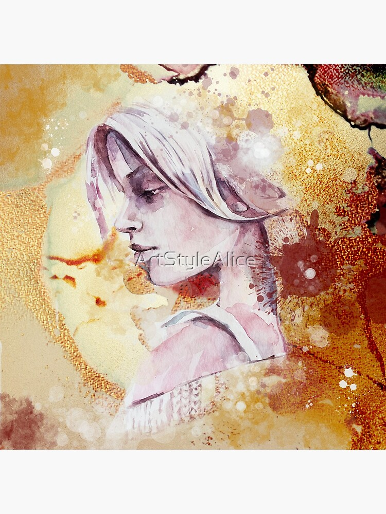 Abstrakte Feen Frau von ArtStyleAlice