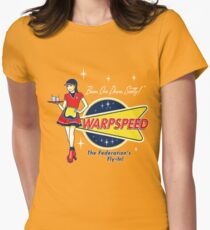 Warpspeed Federation Fly-In Womens Fitted T-Shirt