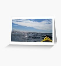 Kayaking is Swell Greeting Card