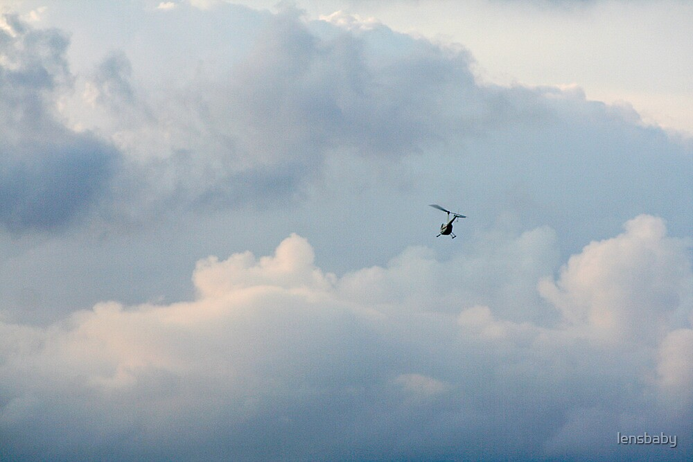 almost lost among the clouds by lensbaby