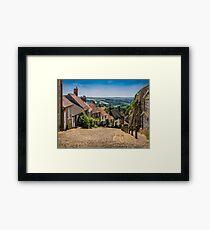 Gold Hill Shaftesbury Framed Print