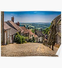 Gold Hill Shaftesbury Poster