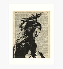 Indian,Native American,Aborigine Art Print