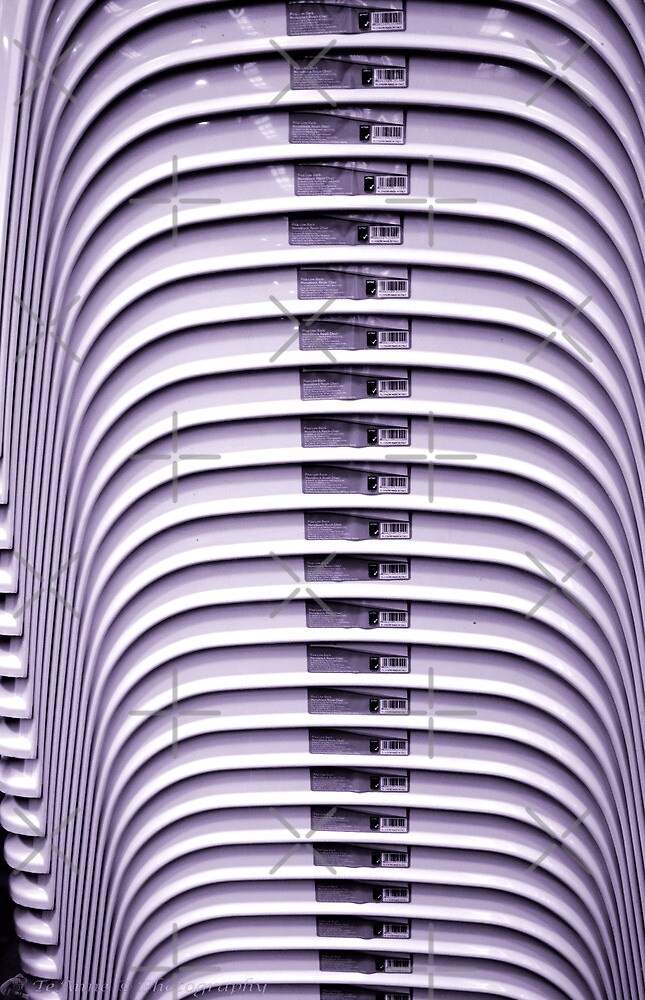 Stacked chairs 2 by TeAnne