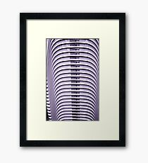 Stacked chairs 2 Framed Print