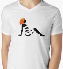 Leeloo Dallas Mudflap Men's V-Neck T-Shirt
