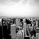 New York Skyline - Midtown by Jeffrey West