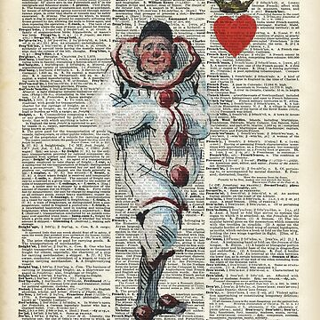 Joker from Playing Cards,Clown,Circus Actor by DictionaryArt