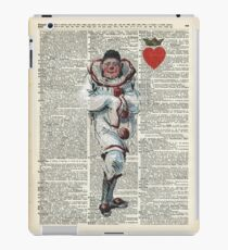 Joker from Playing Cards,Clown,Circus Actor iPad Case/Skin
