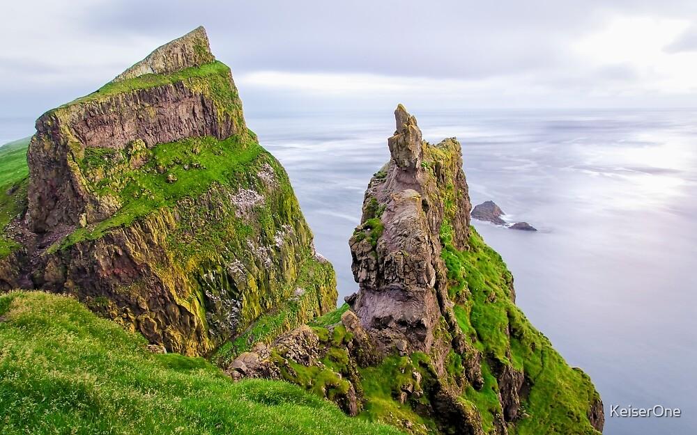 Twin Peaks - Faroe Islands by KeiserOne
