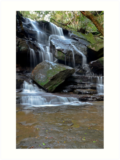 Tumbling Down, Somersby Falls by bazcelt