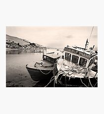 Wear and Tear - Old Irish Fishing Boats Photographic Print