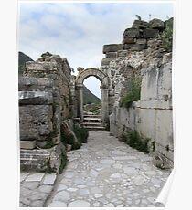 Turkey - Ephesus Arch Poster