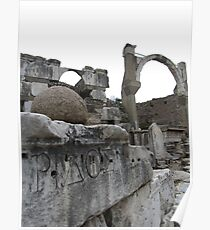 Turkey - Ancient Site Poster
