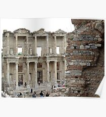 Turkey - Celsus Library Poster