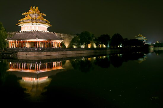 The Forbidden City - Series B - Buildings & Roof Tops 7 ©  by © Hany G. Jadaa © Prince John Photography