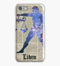 Libra Scales Zodiac Sign,Horoscope,Astrology,Astronomy iPhone Case/Skin