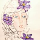 Clematis by Lenora Brown