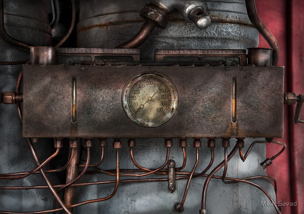 Steampunk - Connections   by Michael Savad
