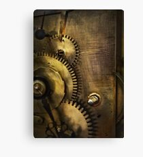 Steampunk - Toothy  Canvas Print