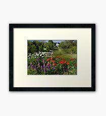 Flower - Poppy - Piece of heaven Framed Print