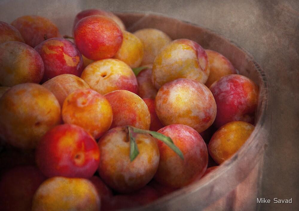 Food - Peaches - Farm fresh peaches  by Michael Savad