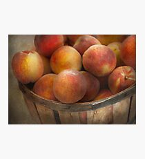 Food - Peaches - Just Peachy Photographic Print