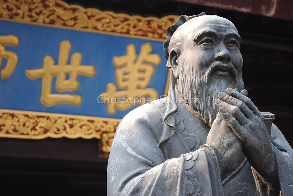 Confucius by Christopher Colletta