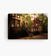 Summer in Greenwich Village Canvas Print