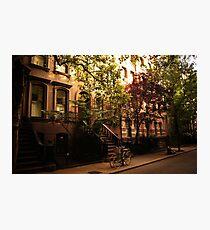 Summer in Greenwich Village Photographic Print
