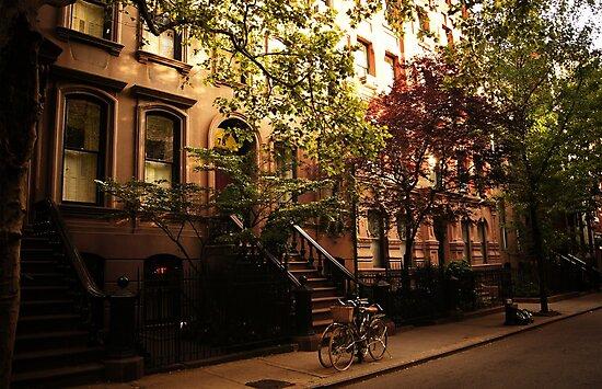 Summer in Greenwich Village by Vivienne Gucwa
