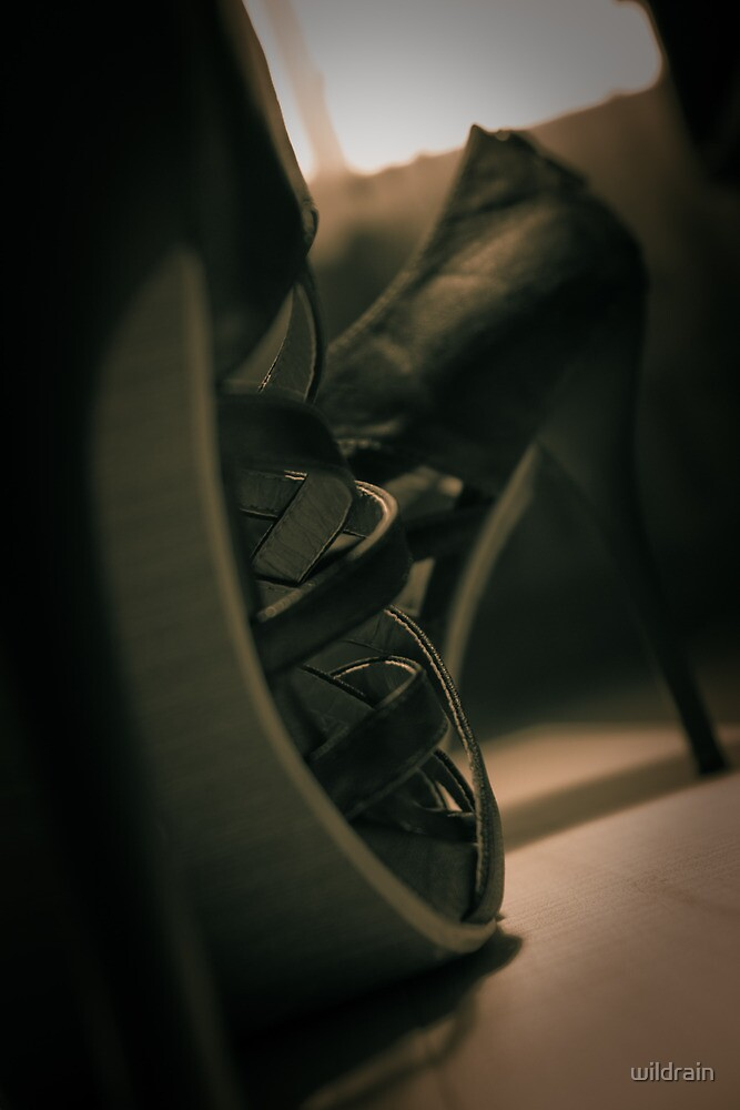 Stylish high heels shoes by wildrain