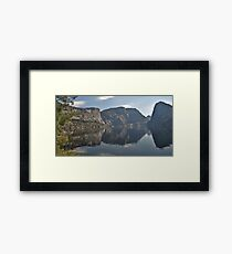 Hetch Hetchy Reflected.... Framed Print