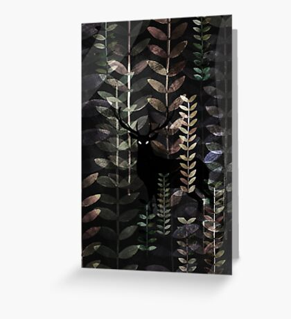 glass forest Greeting Card
