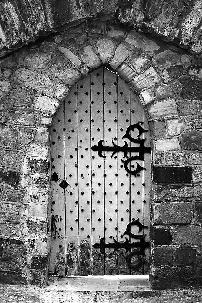 Nail Studded Door by SquarePeg