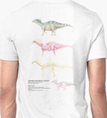 Amargasaurus Cazaui Factsheet Unisex T-Shirt