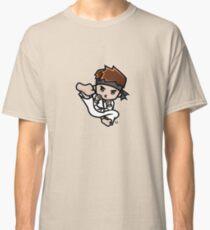 Martial Arts/Karate Boy - Jumpkick Classic T-Shirt