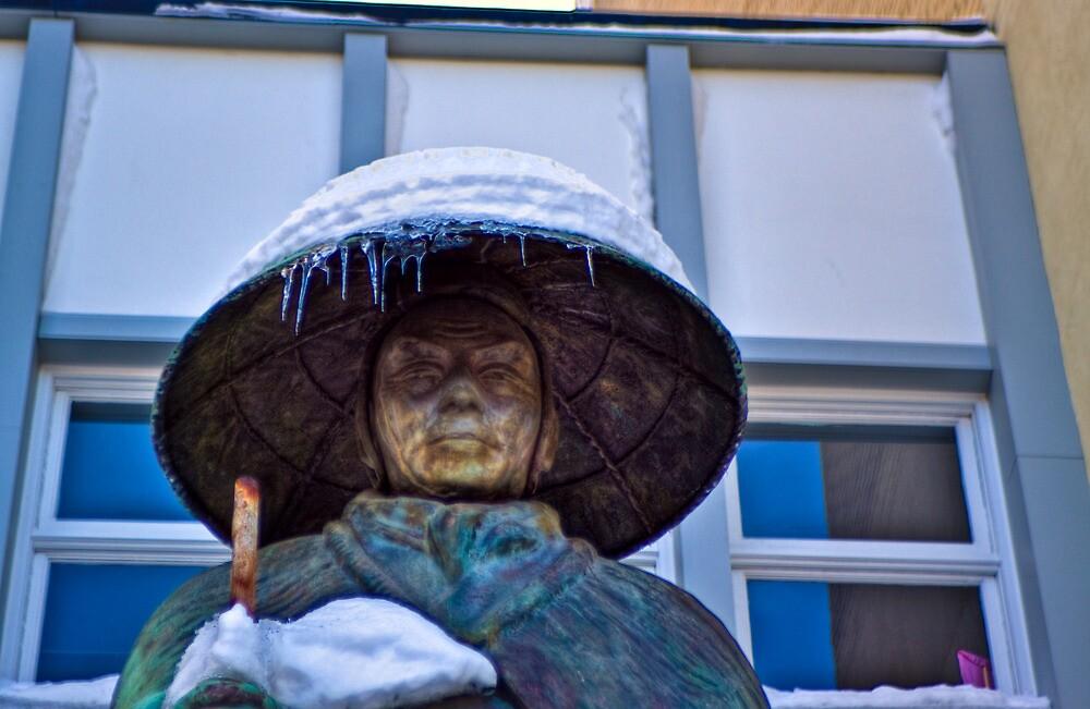 Frozen Buddha by Dave Bledsoe